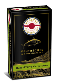 pompon-rouge-gamme-reserve-VENTRECHES-ALBACORE-HUILE-OLIVE