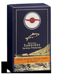 Sardines-huile-olive-vierge-Poivre