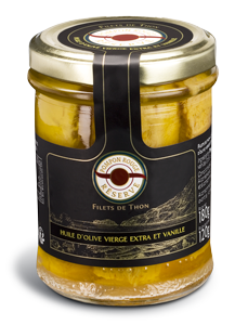 pompon-rouge-Filets-de-thon-huile-olive-Vanille